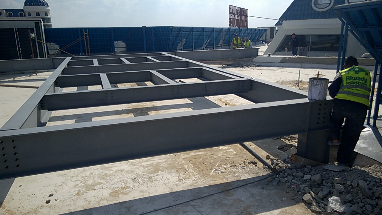 Chillers steel bases